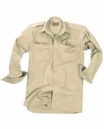 Koszula tropikalna z długim rękawem mil-tec 10933004